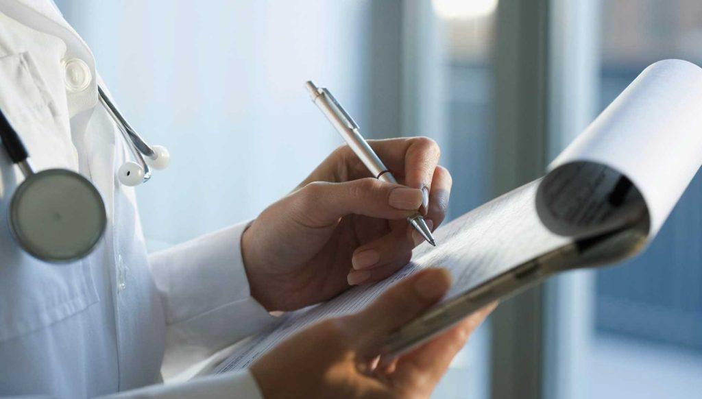 Сбор наркологического анализа пациента в Брянке